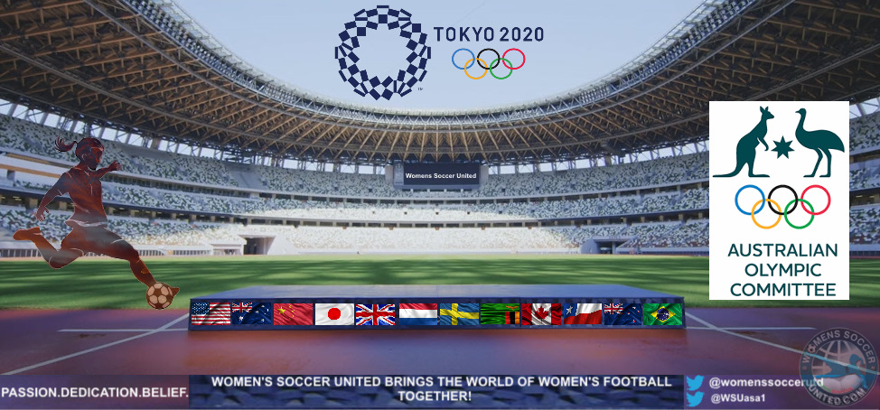 The Australian Olympic Committee Names Team For The 2020 Tokyo Olympic Games Womens Soccer United