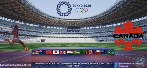 Canada Soccer  Names Team for the 2020 Tokyo Olympic Games