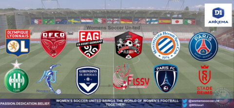 French D1 Arkema 2021 season opening Match day Results