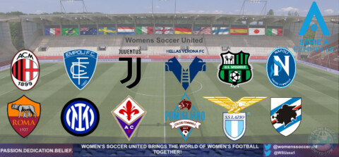 Italian Women's Serie A Femminile 2021 Opening Day Match Results