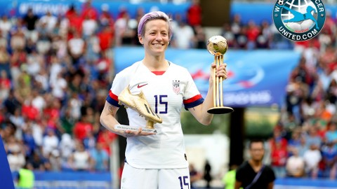Rapinoe is officially the best in the world