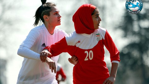 Iran's Women Football Team Loses to Belarus in Friendly