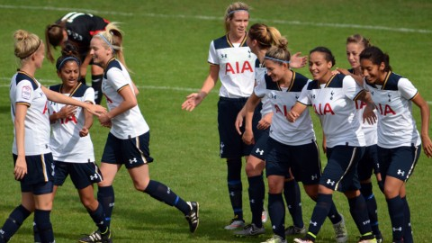 Tottenham Hotspur lead the FA Women's Southern Premier League